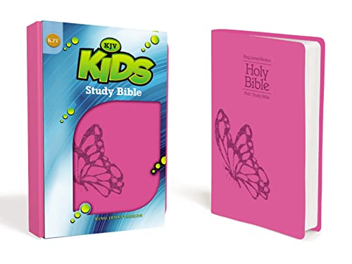 9780310747918: KJV, Kids Study Bible, Imitation Leather, Pink