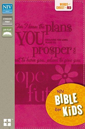 9780310748762: NIV, Bible for Kids, Imitation Leather, Pink, Full Color