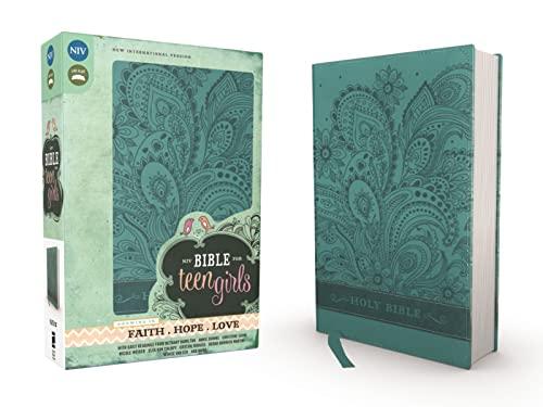 NIV Bible for Teen Girls (Leather): Zondervan Publishing