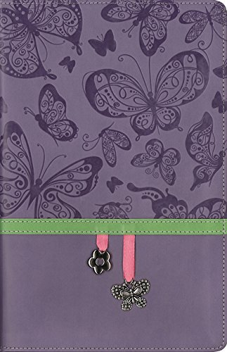 9780310750246: NIV, Charm Bible Collection, Leathersoft, Purple