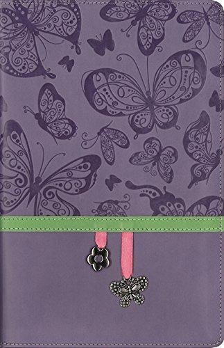 9780310750246: NIV, Charm Bible Collection, Leathersoft, Purple