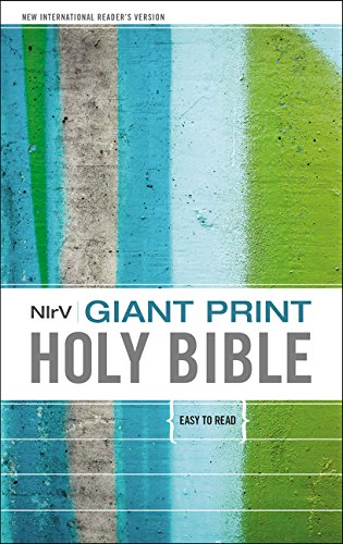 9780310751205: NIrV, Giant Print Holy Bible, Giant Print, Hardcover