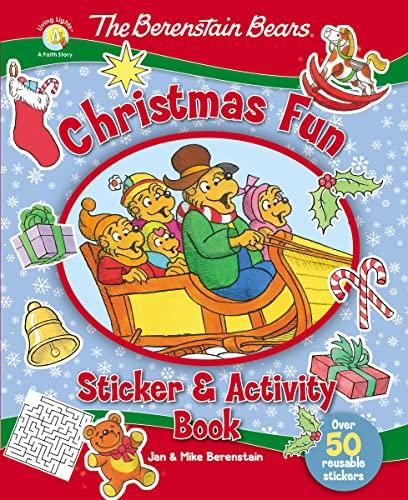 The Berenstain Bears Christmas Fun Sticker and: Zondervan