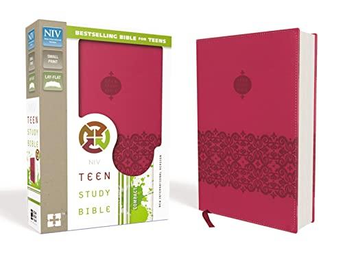 9780310757986: NIV, Teen Study Bible, Compact, Leathersoft, Pink