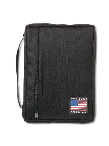 9780310801108: God Bless America Bible Cover