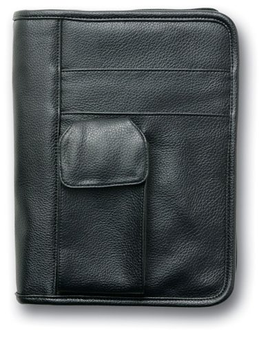 "Leather-Lookâ""¢ Black with Exterior Pockets Med (9780310802488) by Zondervan"