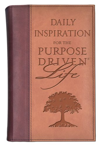 9780310802815: Daily Inspiration For The Purpose: Driven Life Deluxe