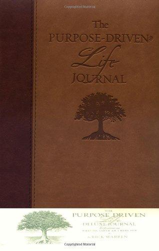 The Purpose-Driven Life Deluxe Journal: Warren, Rick