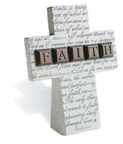 9780310806769: FAITH Small Standing Resin Cross