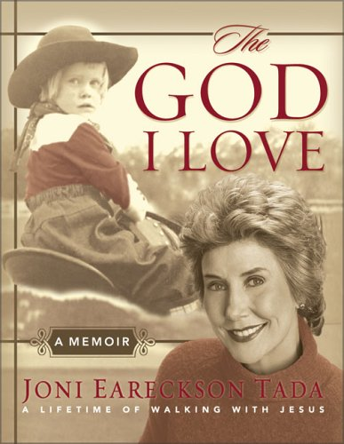 9780310807216: The God I Love: A Lifetime of Walking with Jesus (Running Press Miniatures)