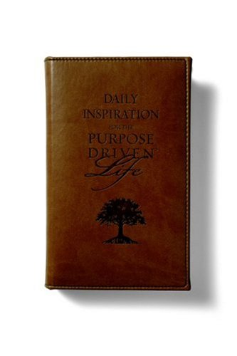 9780310807254: Daily Inspiration for the Purpose Driven Life Deluxe Tan