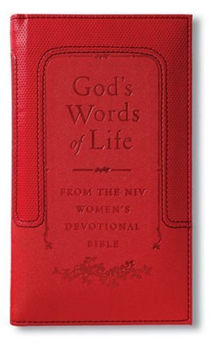 God's Words of Life: from the NIV Women's Devotional Bible Deluxe: Sarah Hupp and Pat ...