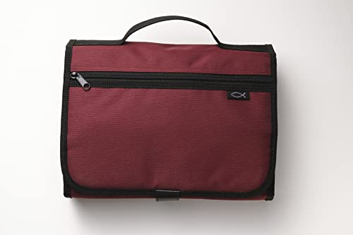 9780310810261: Cranberry Tri-fold Organizer Extra Large: Book & Bible Accessory/ Case & Cover