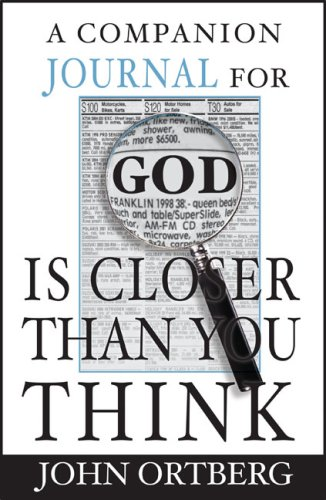 9780310810599: A Companion Journal for God Is Closer Than You Think (Journals)