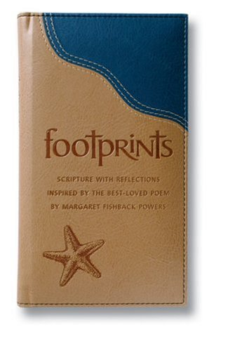 9780310811435: Footprints Deluxe: Scripture with Reflections Inspired by the Best-Loved Poem