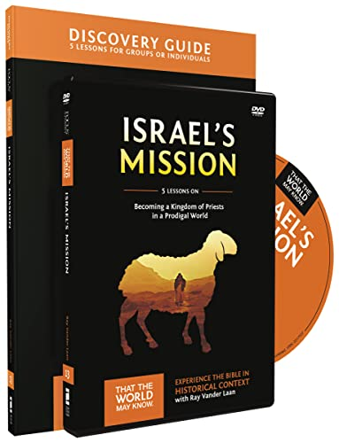 9780310811992: Israel's Mission Discovery Guide with DVD: A Kingdom of Priests in a Prodigal World (That the World May Know)