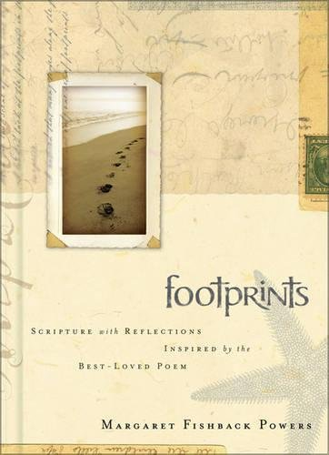 9780310813729: Footprints: Scripture with Reflections Inspired by the Best-Loved Poem