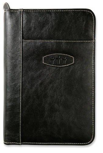 9780310815631: Leather-Look Ebony XL