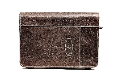Leather-Look Dark Earth XL Book and Bible Cover (9780310815662) by Zondervan