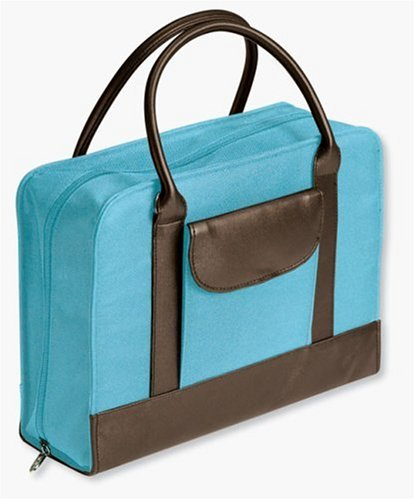 9780310818854: Bible Study Organizer Aqua with Leather-Look™ Accents