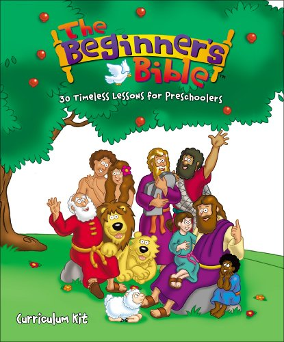 9780310820130: The Beginner's Bible Curriculum Kit: 30 Timeless Lessons for Preschoolers