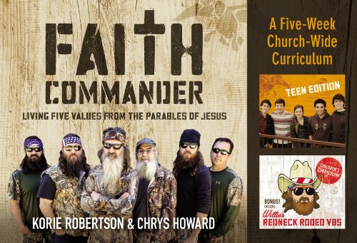 9780310820307: Faith Commander Church-Wide Curriculum Kit: Living Five Values from the Parables of Jesus