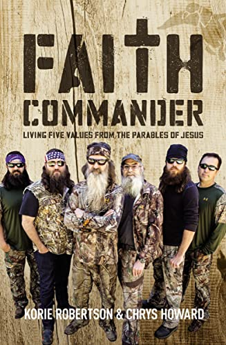 9780310820338: Faith Commander: Living Five Values from the Parables of Jesus