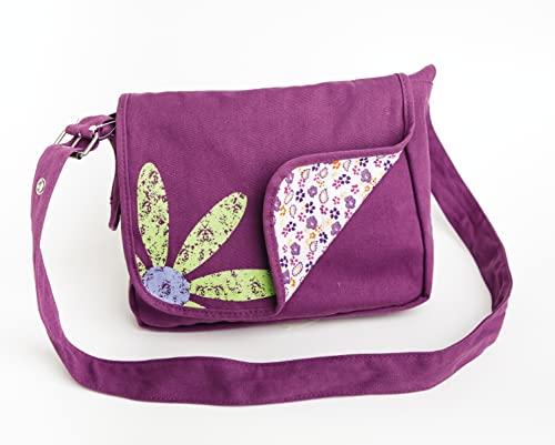 9780310822240: Faithgirlz Messenger Bag Grape Medium