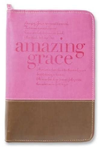 9780310822516: Amazing Grace Cover Italian Duo-Tone Orchid/Chocolate Large
