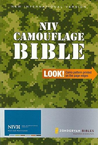 NIV Camo Bible: Zondervan