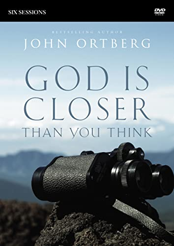 9780310823407: God Is Closer Than You Think Video Study