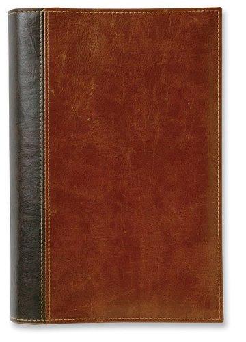 9780310823766: Book and Bible Slipcover Chocolate/Caramel Medium