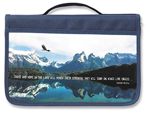 9780310823834: Inspiration Eagle Canvas Navy Large Value