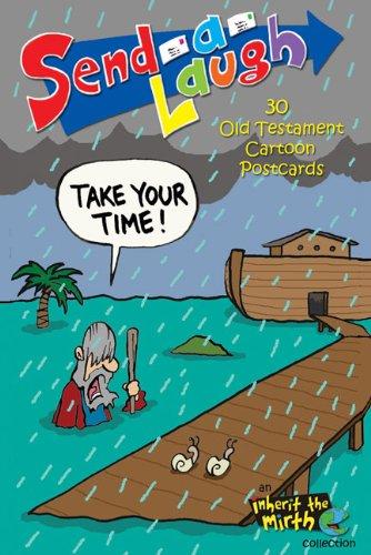 9780310824084: 30 Old Testament Cartoon Postcards (Send-a-Laugh)