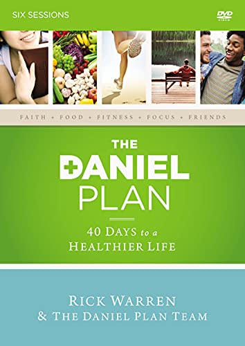9780310824459: The Daniel Plan: A DVD Study: 40 Days to a Healthier Life