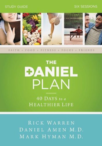 9780310824466: The Daniel Plan Study Guide with DVD: 40 Days to a Healthier Life