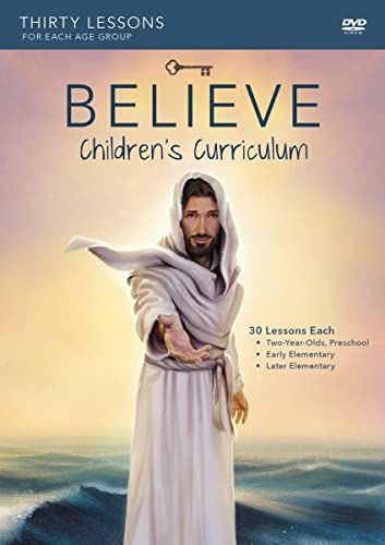 9780310826385: Believe Children's Curriculum: Living the Story of the Bible