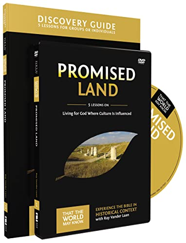 9780310878773: Promised Land Discovery Guide with DVD: Living for God Where Culture Is Influenced (That the World May Know)