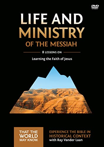9780310878841: Life and Ministry of the Messiah Video Study: Learning the Faith of Jesus