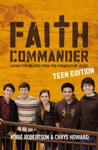 9780310884538: Faith Commander Teen Edition with DVD: Living Five Values from the Parables of Jesus