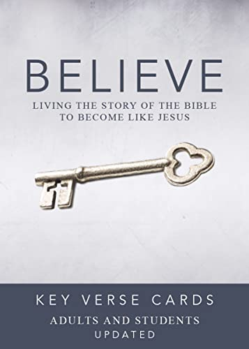 9780310886440: Believe Key Verse Cards: Adult/Student