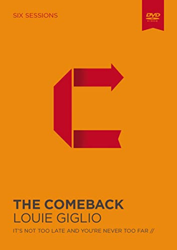 9780310887409: The Comeback Video Study: It's Not Too Late and You're Never Too Far
