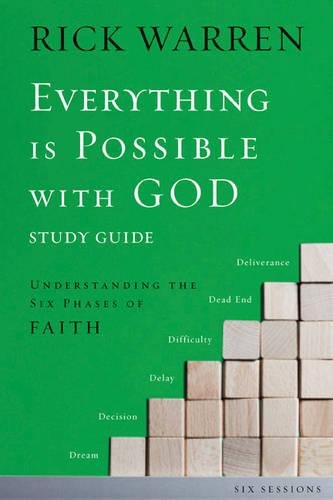 9780310889472: Everything is Possible with God Participant's Guide with DVD: Understanding the Six Phases of Faith