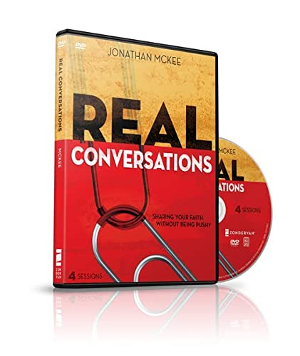 9780310890799: Real Conversations: A DVD Study: Sharing Your Faith Without Being Pushy