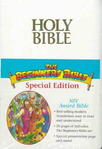 9780310900924: New International Version Bible : Award Bible, White Imitation Leather, Red Letter, Gold Edging