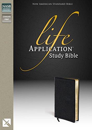 9780310900993: Life Application Study Bible, NASB