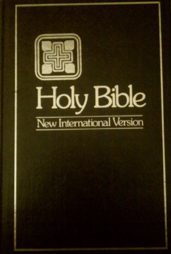 9780310901020: Holy Bible: New International Version, Text/Concordance, Single Column, Black Letter