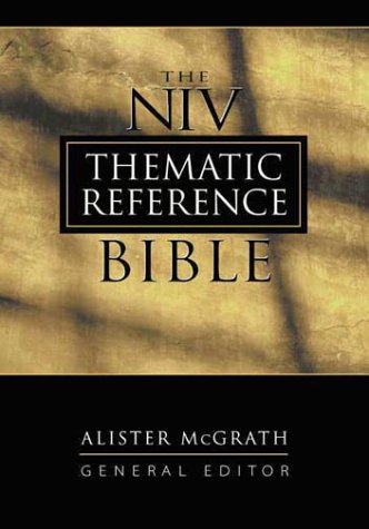 9780310902171: The Niv Thematic Reference Bible: Burgundy Bonded Leather
