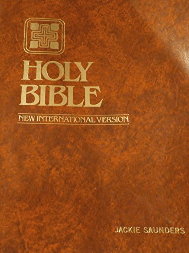 The Holy Bible: New International Version (Giant