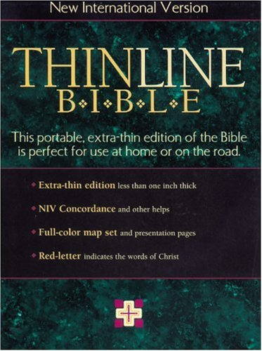 9780310903246: NIV Thinline Bible Indexed